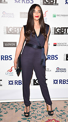 Hannah John-Karmen attends The British LGBT Awards at The Landmark Hotel, London on Friday 24 April 2015