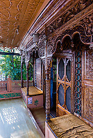 New Golden Hind, a luxury houseboat on Dal Lake, Srinagar, Kashmir, Jammu and Kashmir State; India.