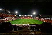 A general interior view of Oakwell Stadium, home of Barnsley before the EFL Sky Bet Championship match between Barnsley and Bristol City at Oakwell, Barnsley, England on 1 November 2019.