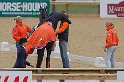 Gal Edward, Minderhoud Hans Peter<br /> European Championship Dressage Windsor 2009<br /> Houtzager Marc (NED) - Opium VS