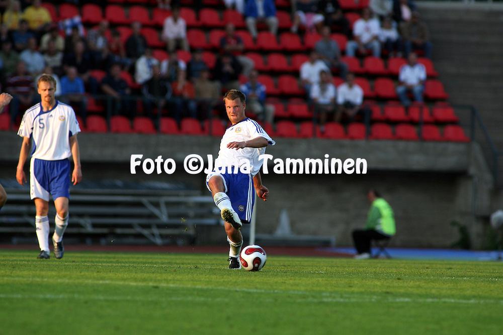 22.08.2007, Ratina Stadium, Tampere, Finland..UEFA European Championship 2008.Group A Qualifying Match Finland v Kazakhstan.Teemu Tainio - Finland.©Juha Tamminen.....ARK:k