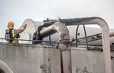 Auckland-Fire in oven at Sanitarium factory