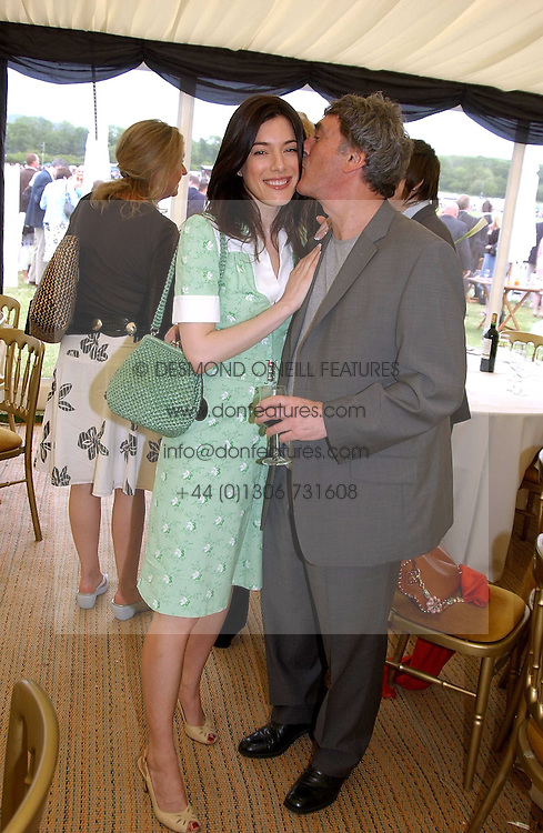 Actress JAIME MURRAY and her father actor BILLY MURRAY at the Kuoni World Class Polo Day held at Hurtwood Park Polo Club, Surrey on 29th May 2005.<br /><br />NON EXCLUSIVE - WORLD RIGHTS
