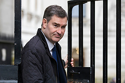 © Licensed to London News Pictures. 06/03/2018. London, UK. Justice Secretary David Gauke on Downing Street for the weekly Cabinet meeting. Photo credit: Rob Pinney/LNP