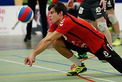 20170225 NED: Eredivisie, Valei Volleybal Prins - Coolen - Alterno: Ede<br />Peter Ogink of Valei Volleybal Prins<br />©2017-FotoHoogendoorn.nl / Pim Waslander