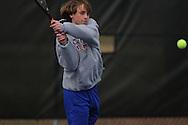 Oxford's Zach Wilder vs. Saltillo in high school tennis in Oxford, Miss. on Thursday, March 10, 2011.