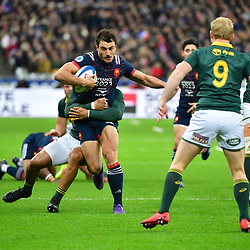 Nans Ducuing of France during the test match between France and South Africa at Stade de France on November 18, 2017 in Paris, France. (Photo by Dave Winter/Icon Sport)
