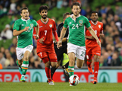 Harry Arter in action for Ireland - Mandatory by-line: Ken Sutton/JMP - 31/08/2016 - FOOTBALL - Aviva Stadium - Dublin,  - Republic of Ireland v Oman -