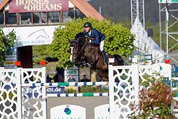OPLATEK Andrzej (POL), Conthinder<br /> Hagen - Horses and Dreams meets the Royal Kingdom of Jordan 2018<br /> Youngster Tour für 7+8j Pferde<br /> 27. April 2018<br /> www.sportfotos-lafrentz.de/Stefan Lafrentz