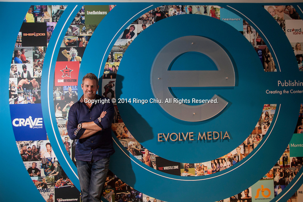Brian Fitzgerald, President of Evolve Media.<br /> (Photo by Ringo Chiu/PHOTOFORMULA.com)