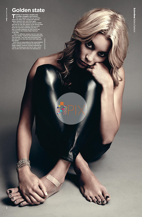Model, actress and basketball WAG Sabina Gadecki features in Sport Magazine, UK... Adorable.  <br /> <br /> Image from our shoot 'Sabina Gadecki :: studio' which is available for worldwide use with approval:  http://www.apixsyndication.com/gallery/Sabina-Gadecki-studio/G00003qkrxf.EXsA/C0000nBKoChmW37A