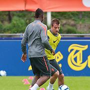 NLD/Katwijk/20110808 - Training Nederlands Elftal voor duel Engeland - Nederland, Rafael van der Vaart