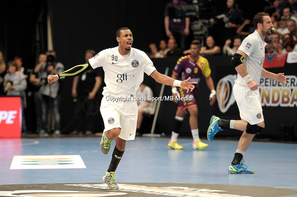 Joie Jefrey M'Tima - 26.04.2015 - Handball - Nantes / Paris Saint Germain - Finale Coupe de France<br /> Photo : Andre Ferreira / Icon Sport