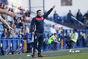 Lee Johnson Head Coach of Bristol City during the EFL Sky Bet Championship match between Sheffield Wednesday and Bristol City at Hillsborough, Sheffield, England on 22 April 2019.