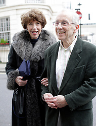 Andrew Sachs and wife at Mosimanns restaurant,  London, United Kingdom. Sunday, 24th November 2013. Picture by Mike Webster / i-Images