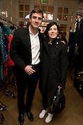 SHARLEEN SPITERI; JACQUES PONS, The Launch of the Lanvin store on Mount St. Presentation and cocktails.  London. 26 March 2009