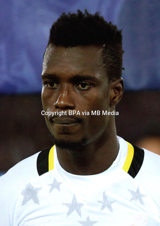 Football Fifa Brazil 2014 World Cup Matchs-Friendly / <br /> Japan vs Ghana 3-1   ( International Stadium Yokohama - Kanagawa - Japan )<br /> John Boye of Ghana , during the friendly match between Japan and Ghana