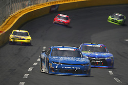 May 26, 2018 - Concord, North Carolina, United States of America - Elliott Sadler (1) brings his race car down the front stretch during the Alsco 300 at Charlotte Motor Speedway in Concord, North Carolina. (Credit Image: © Chris Owens Asp Inc/ASP via ZUMA Wire)