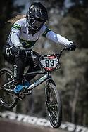 2018 UCI BMX Supercross<br /> Round 7 Santiago Del Estero (Argentina)<br /> Practice<br /> #93 (STEVAUX CARNAVAL Priscilla Andreia) BRA
