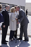 King Juan Carlos I with Mayor of Madrid Manuela Carmena during the 40th anniversary of Reina Sofia Alzheimer Foundation. May 21 ,2017. (ALTERPHOTOS/Pool)