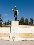 Statue of Leonidas, Thermopylae, Greece