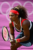 Tennis, Womens - Singles - U. Radwanska (POL) vs S. Williams (USA) [Second Round]