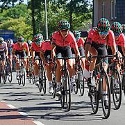 29-06-2019: Wielrennen: NK weg vrouwen: Ede  Parkhotel Valkenburg team leidt het peloton