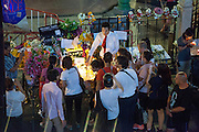 Flowers And Messages Left For Victims Of Bangkok Bomb Attack during Candlelit vigil for Bangkok bombing  victims held near the Erawan Shrine in Bangkok, scene of a bomb blast that killed 22 people and injured some 140 others.