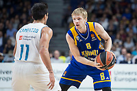 Khimki Moscow Vyacheslav Zaytsev during Turkish Airlines Euroleague match between Real Madrid and Khimki Moscow at Wizink Center in Madrid, Spain. November 02, 2017. (ALTERPHOTOS/Borja B.Hojas)