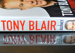 LONDON:  'A Journey' the memoir of Tony Blair on 1st Sept 2010. STEPHEN SIMPSON..