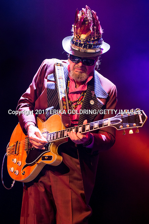 NEW ORLEANS, LA - JANUARY 07:  Mac Rebennack aka Dr. John performs at the 2nd Annual Bal Masqué at The Orpheum Theatre on January 7, 2017 in New Orleans, Louisiana.  (Photo by Erika Goldring/Getty Images) *** Local Caption *** Mac Rebennack;Dr John