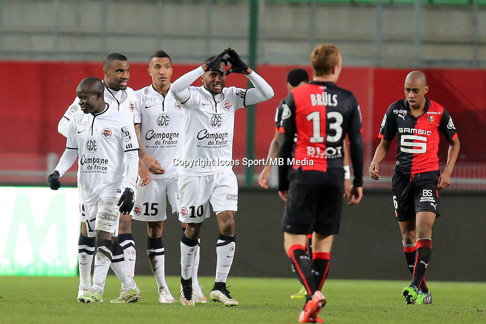 Lenny NANGIS   - 25.01.2015 - Rennes / Caen  - 22eme journee de Ligue1<br />