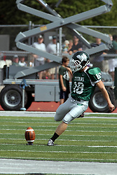 28 September 2013:  Michael Kelley during an NCAA division 3 football game between the Hope College Flying Dutchmen and the Illinois Wesleyan Titans in Tucci Stadium on Wilder Field, Bloomington IL