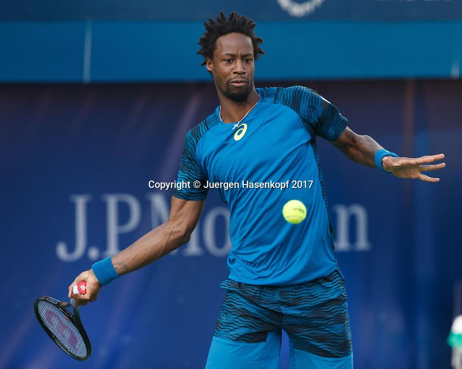 GAEL MONFILS (FRA)<br /> <br /> Tennis - Dubai Duty Free Tennis Championships - ATP -  Dubai Duty Free Tennis Stadium - Dubai -  - United Arab Emirates  - 1 March 2017. <br /> &copy; Juergen Hasenkopf