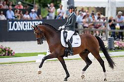 Van Vliet Renate, NED, In Style<br /> World ChampionshipsYoung Dressage Horses<br /> Ermelo 2018<br /> © Hippo Foto - Dirk Caremans<br /> 04/08/2018