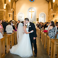 Ben & Brooke Wedding Album Samples | St. Peter's Catholic Church and The Southern Hotel | 1216 Studio Wedding Photography