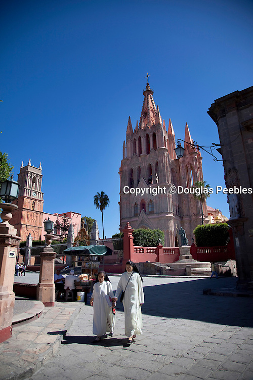La Parroquia, Church of St. Michael the Archangel, San Miguel de Allende, Guanajuato, Mexico