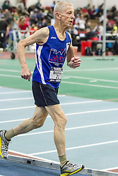 USATF Masters Indoor Championship, men's mile, 80-94 age-group race,