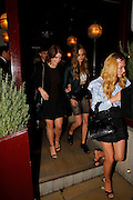 Cara Delevingne and Clara Paget and Princess Eugenie at the Love Magazine Party at Lou lou's,London<br /> ©Exclusivepix Media