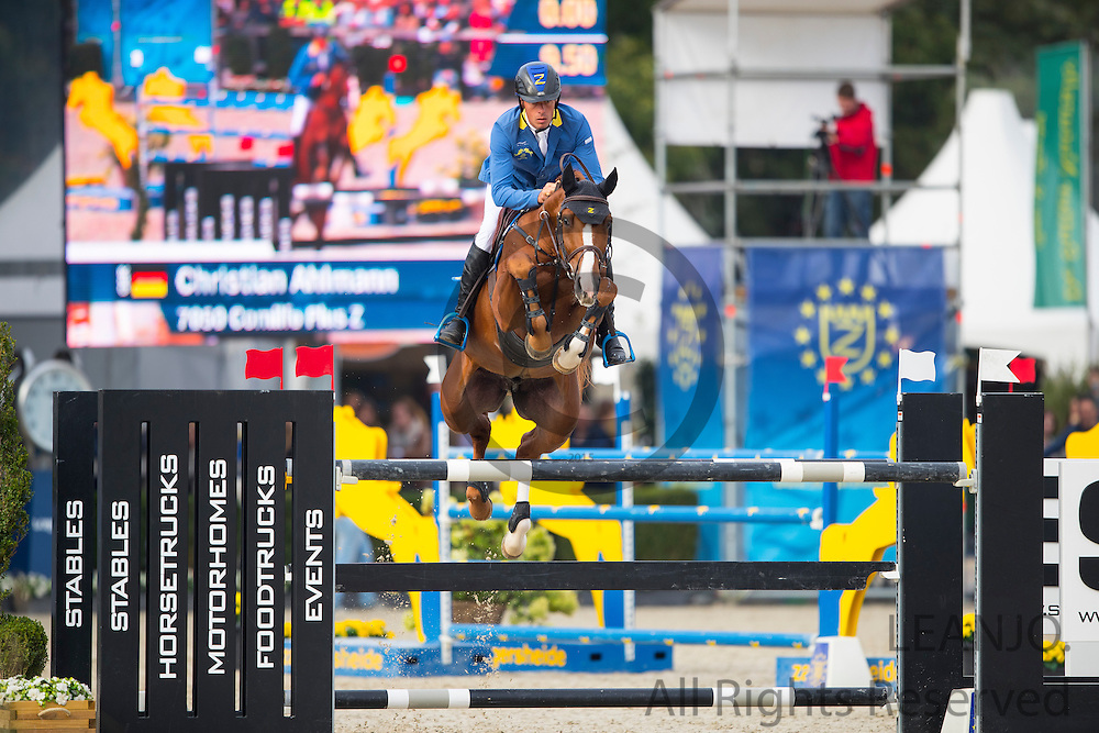Christian Ahlmann - Comilfo Plus Z<br /> FEI World Breeding Jumping Championships for Young Horses 2016<br /> © DigiShots