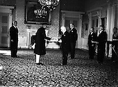1952 - B.G. Kher, Indian Ambassador to Ireland presents his Credentials to President O'Kelly