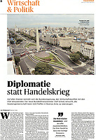 Handelsblatt No. 55, page 8, March, 19,2018