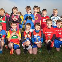 Boys U10 top 12,<br /> 1st Cian Neylon (Marian)<br /> 2nd Eoin O'Leary (KIB)<br /> 3rd Paddy Bradley (Derg)<br /> 4th Diarmuid Coleman (Derg)<br /> 5th Enda O'Halloran (St. Cronins)<br /> 6th John Cahill (St Cronins)<br /> 7th Darren Canavan (KIB)<br /> 8th Darragh Killen (Derg)<br /> 9th Evan Courtney (Marian)<br /> 10th Eoghan Daly (Tuly)<br /> 11th Cormac Lynan (St Cronins)<br /> 12th Noah Walsh (St. Cronins)