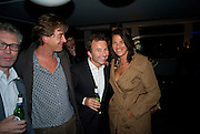 JASPER MORRISON; SCOTT DOUGLAS; TONY CHAMBERS; TRACEY EMIN. Celebrate the second guest editors issue. Pre-launch of  Paramount at Centrepoint.London 16 September 2008. *** Local Caption *** -DO NOT ARCHIVE-© Copyright Photograph by Dafydd Jones. 248 Clapham Rd. London SW9 0PZ. Tel 0207 820 0771. www.dafjones.com.