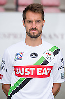 OHL's Romain Reynaud pictured during the 2015-2016 season photo shoot of Belgian first league soccer team OH Leuven, Monday 13 July 2015 in Leuven.