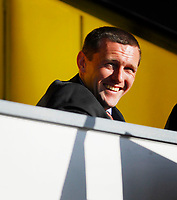 Photo: Leigh Quinnell.<br /> Watford v Hull City. Coca Cola Championship. 20/10/2007. Watford manager Adrian Boothroyd happy before the game.