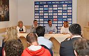DESCRIZIONE : Folgaria Presentazione Trentino Basket Cup Raduno Collegiale  Nazionale Italia Maschile <br /> GIOCATORE : <br /> CATEGORIA : conferenza stampa <br /> SQUADRA : Nazionale Italiana Uomini <br /> EVENTO :  Presentazione Trentino Basket Cup<br /> GARA : Presentazione Trentino Basket Cup<br /> DATA : 27/07/2015 <br /> SPORT : Pallacanestro<br /> AUTORE : Agenzia Ciamillo-Castoria/R.Morgano<br /> Galleria : FIP Nazionali 2015<br /> Fotonotizia : Folgaria Allenamento Raduno Collegiale Nazionale Italia Maschile Predefinita :