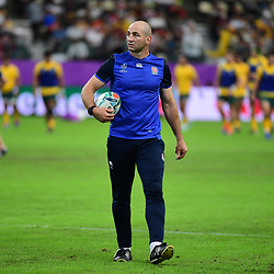 England forwards coach Steve BORTHWICK during the Rugby World Cup 2019 Quarter Final match between England and Australia on October 19, 2019 in Oita, Japan. (Photo by Dave Winter/Icon Sport) - Steve BORTHWICK - Oita Stadium - Oita (Japon)