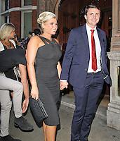 LONDON - JULY 20: Billie Faiers attended The Kensington Club launch, High Street Kensington, London, UK. July 20, 2012. (Photo by Richard Goldschmidt)