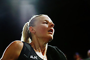 Katrina Grant of New Zealand reacts after losing to England. Gold Coast 2018 Commonwealth Games, Netball, New Zealand Silver Ferns v England, Gold Coast Convention and Exhibition Centre, Gold Coast, Australia. 11 April 2018 © Copyright Photo: Anthony Au-Yeung / www.photosport.nz